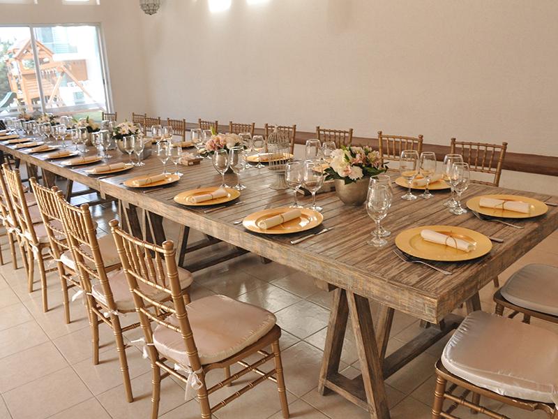 Alquiler de carpas mesas y sillas para eventos galeventos for Mesas y sillas para xv